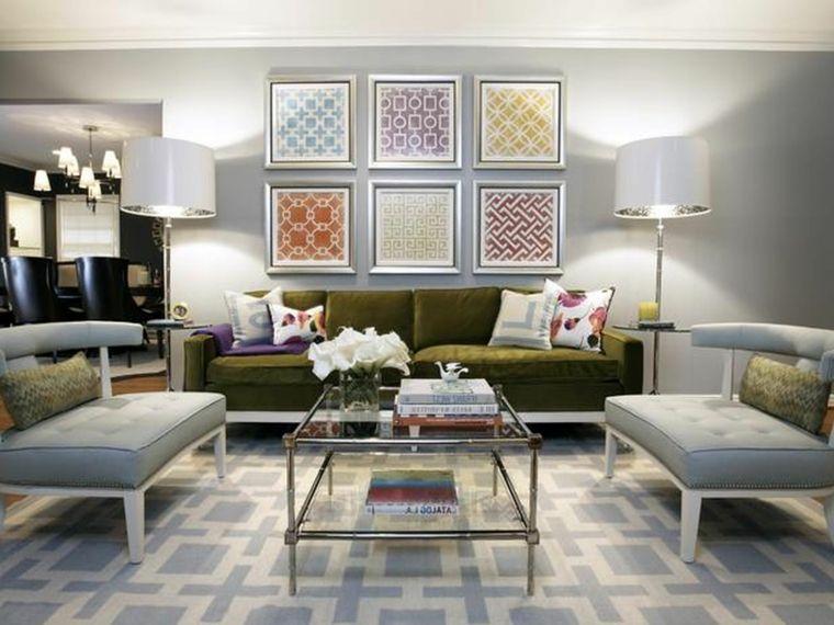 tapices modernos telas cuadros marcos Paredes Pinterest - tapices modernos