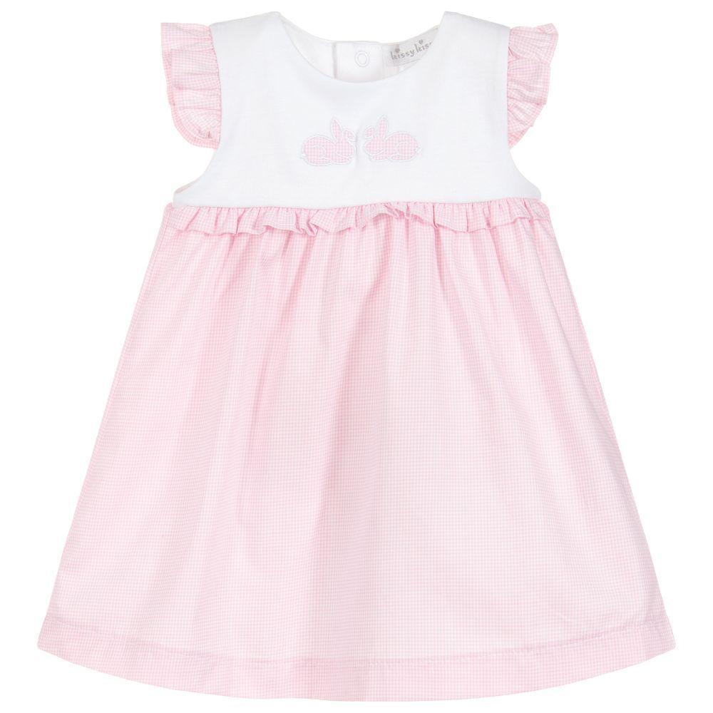 90f1bb8f1a0a Baby Pima Cotton Dress Set