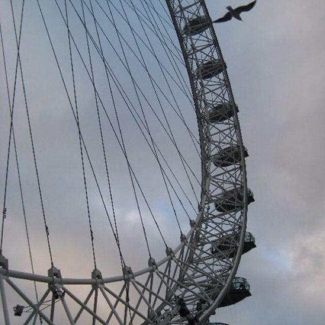 FWAB London - a shot of the Eye.
