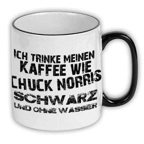 FunTasstic Tasse Ich trinke meinen Kaffee wie Chuck Norris - schwarz und ohne Wasser - http://www.1pic4u.com/blog/2014/09/16/funtasstic-tasse-ich-trinke-meinen-kaffee-wie-chuck-norris-schwarz-und-ohne-wasser/