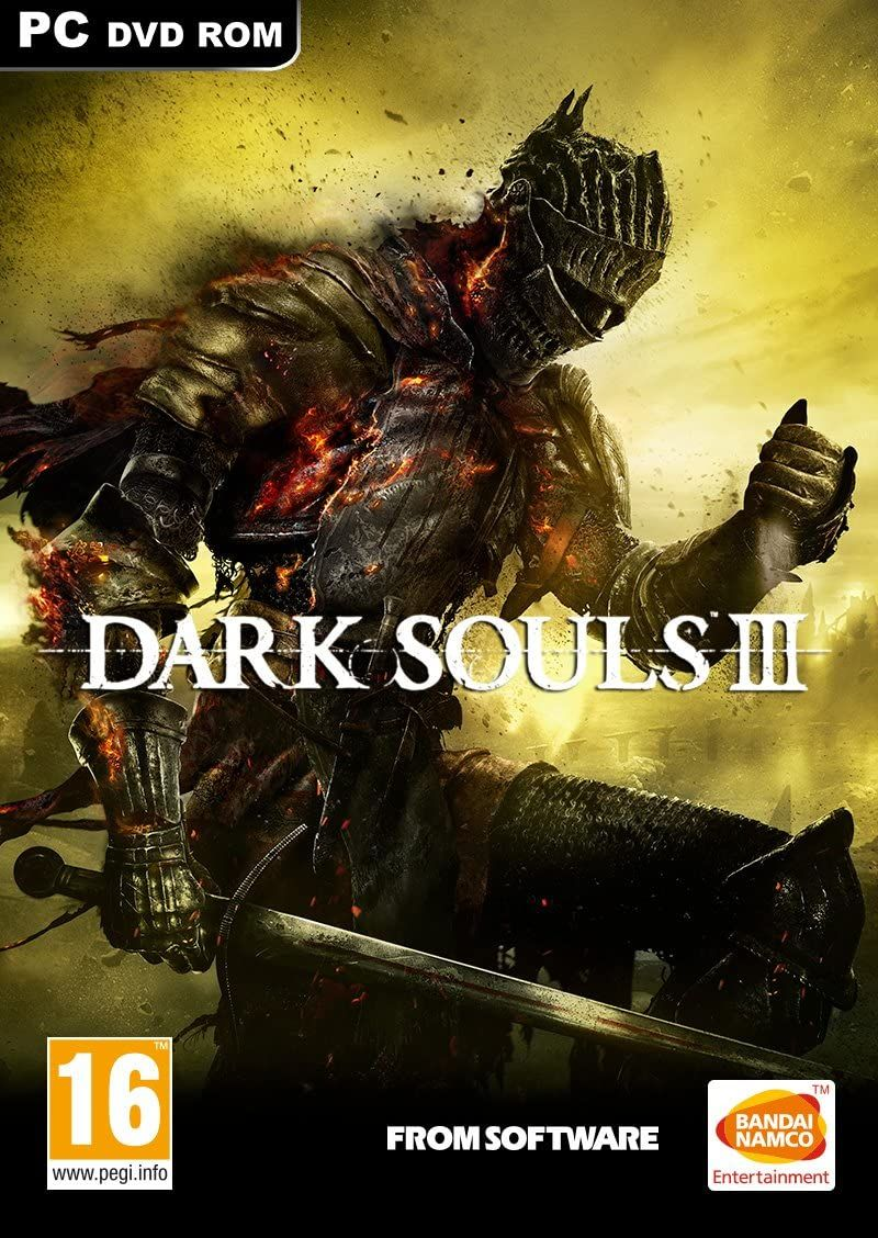 Dark Souls III PC DVD PC and Video Games , Amazon