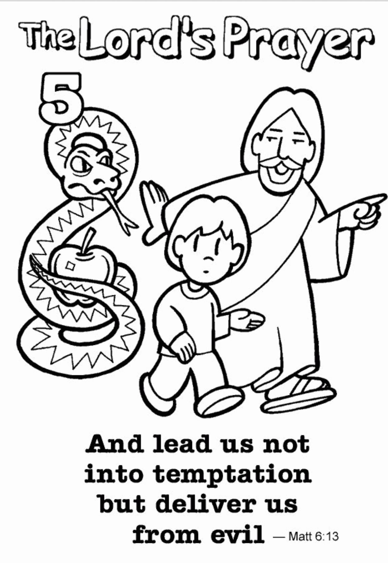 Coloring Page Of Family Save Suddenly Child Praying Coloring Page