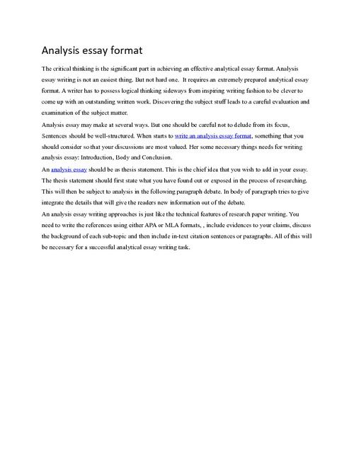 Ad analysis essay help