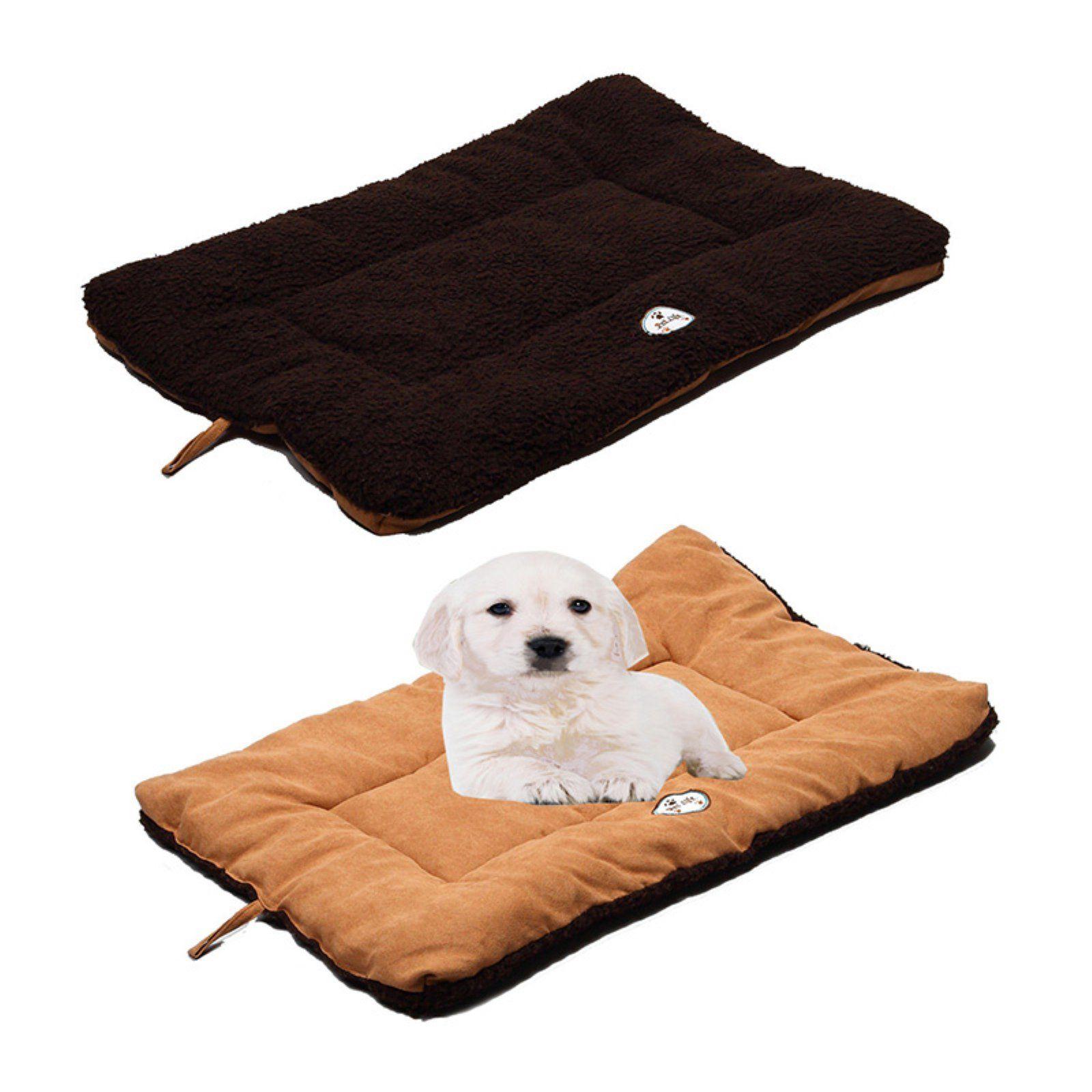 Pet Life EcoPaw Reversible Pet Bed Brown / Cocao Pet