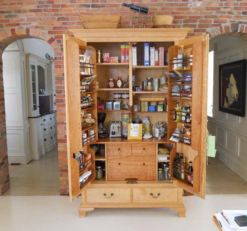 7 Cool Ideas For Decluttering Your Kitchen Pantry Cabinet Kitchen Pantry Storage Cabinet Pantry Design
