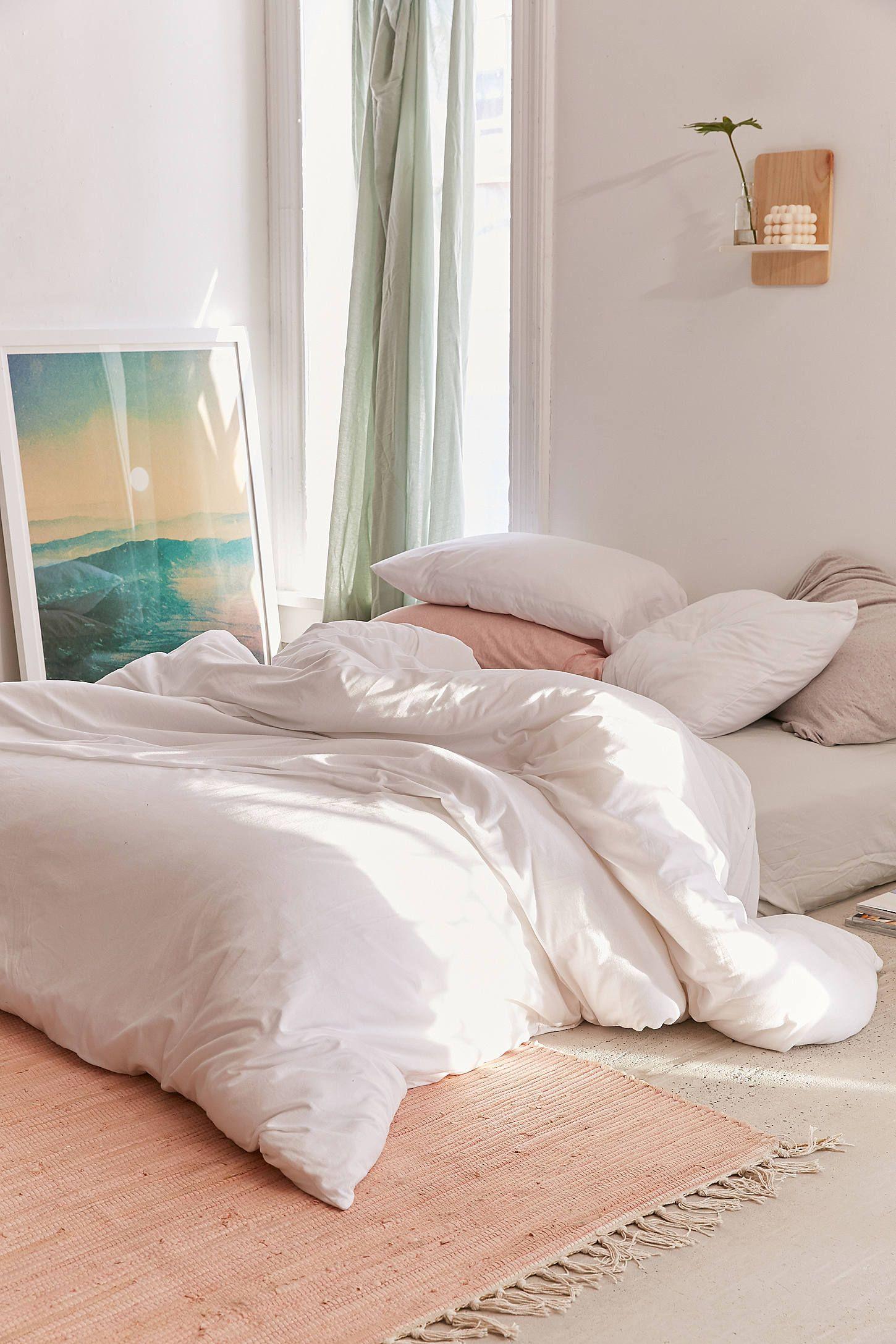 T Shirt Jersey Comforter White White Comforter Bedroom