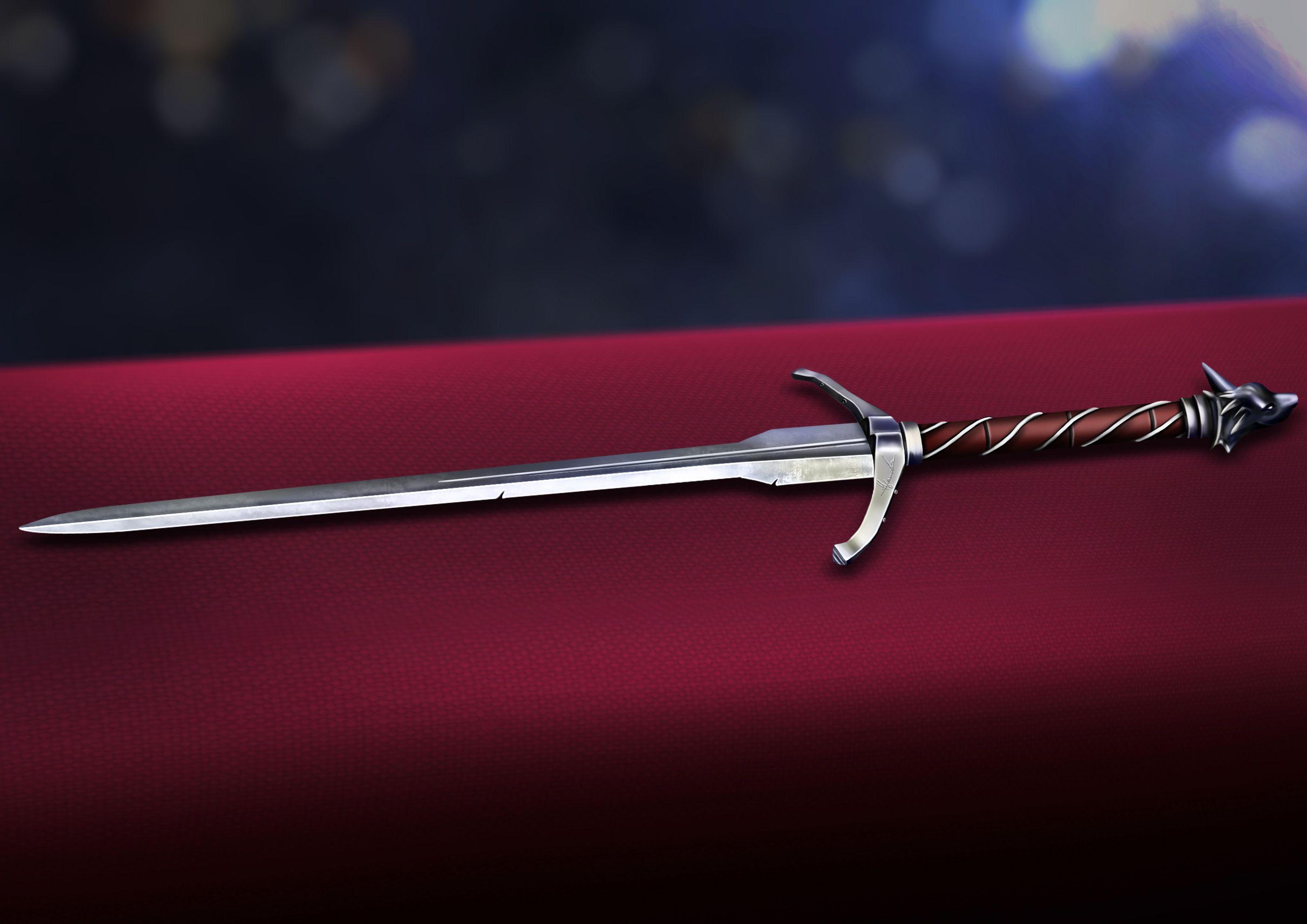 жесткими непослушными меч ведьмака фото космосе происходят