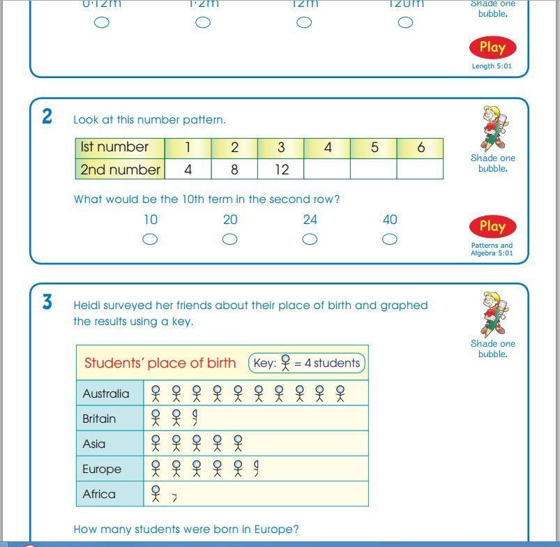 Math Builder Naplan Practice - Teacher Features | teaching resources ...