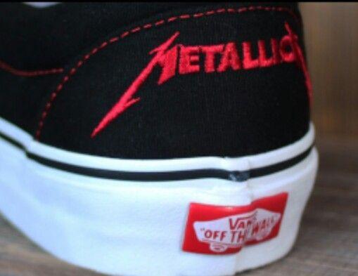 Pin by Aimee Richards on My Style   Metallica, Vans, Vans shoes