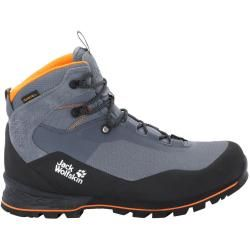 Photo of Jack Wolfskin Waterproof Men Trekking Shoes Wilderness Lite Texapore Mid Men 45 gray Jack Wolfs