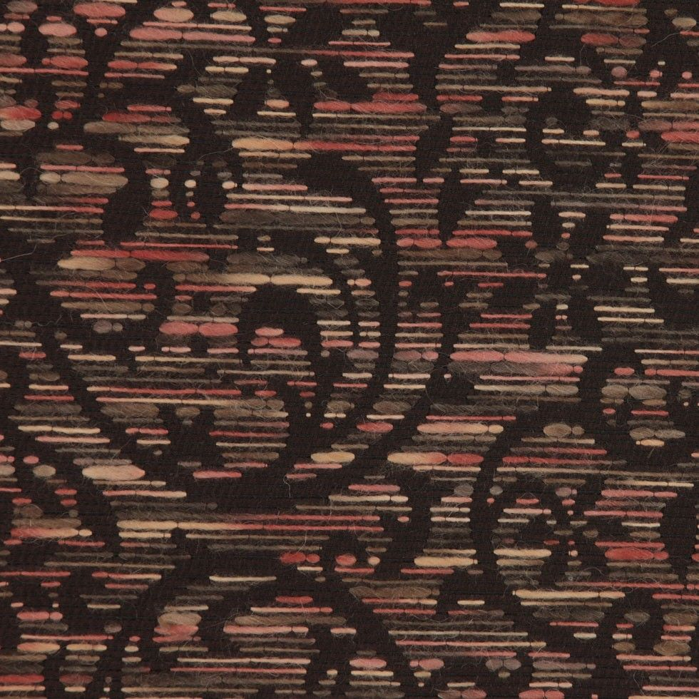 Brown Floral Brocade Fabric by the Yard | Mood Fabrics
