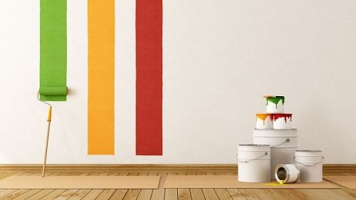 painting your home interiors which one to go for free wallpapers