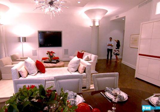 Bethenny Frankel, Jason Hoppy living room | For the Home | Pinterest ...
