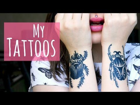 My Tattoos || Where, who, how and why. - YouTube