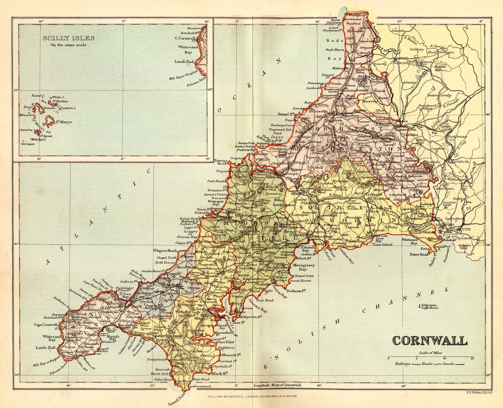 Best 25 Cornwall map ideas on Pinterest  History of england Map