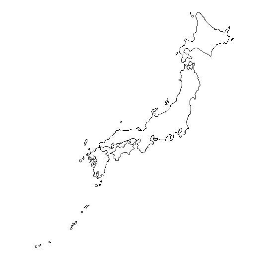 Geography Geography Teacher And Students - Japan map sketch