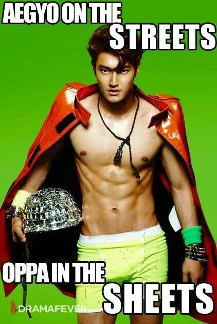 ㅋㅋㅋ oh, Siwon...