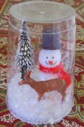 Easy Snowglobe With No Water Weather Themes Christmas