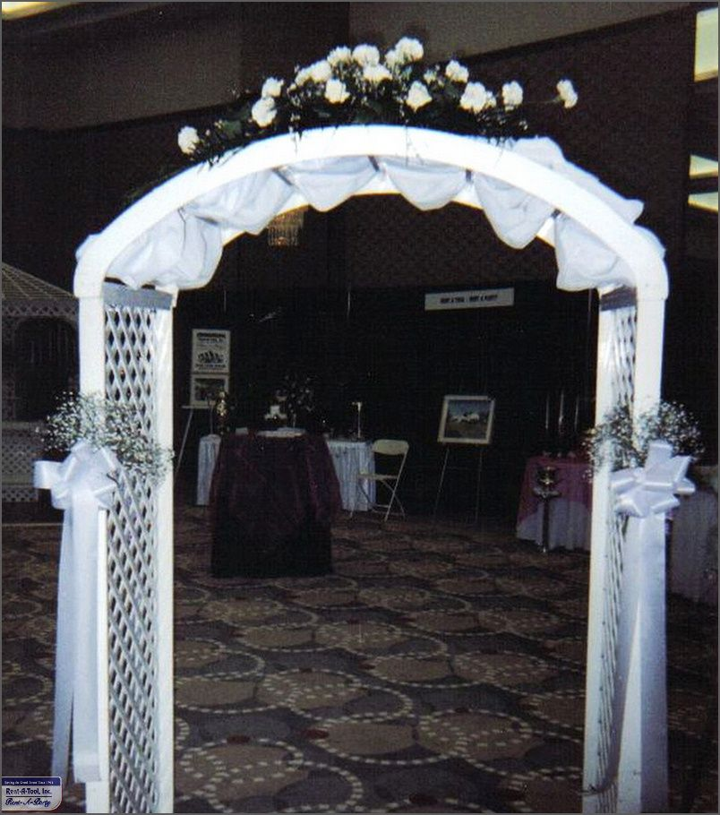 Simple Wedding Arch For Sale Party Rentals Beach Equipment