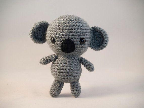 Amigurumi Koala Crochet Pattern Por Amigurumiwizard En Etsy