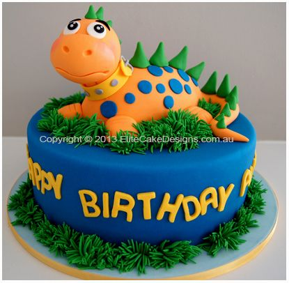 Pin by Robyn Pierce on Food Pinterest Dinosaur cake Cake and