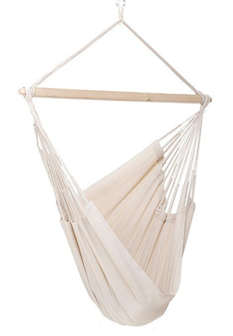 Colombian Hammock Chair 44 Inch Natural Cotton Cloth Natural Hammock Hammock Chair Outdoor Garden Furniture