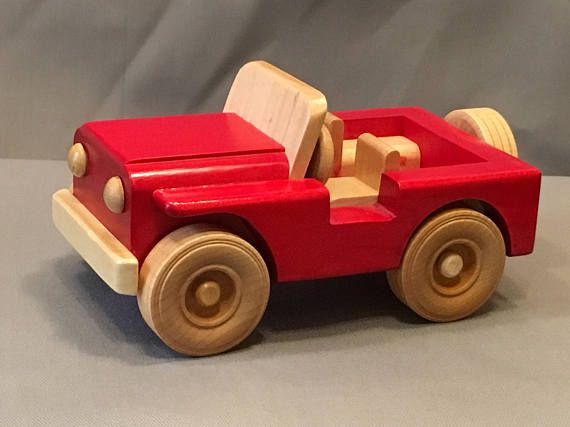 Wooden Toy Jeep Products Pinterest Wooden Toys Wood Toys And Toys