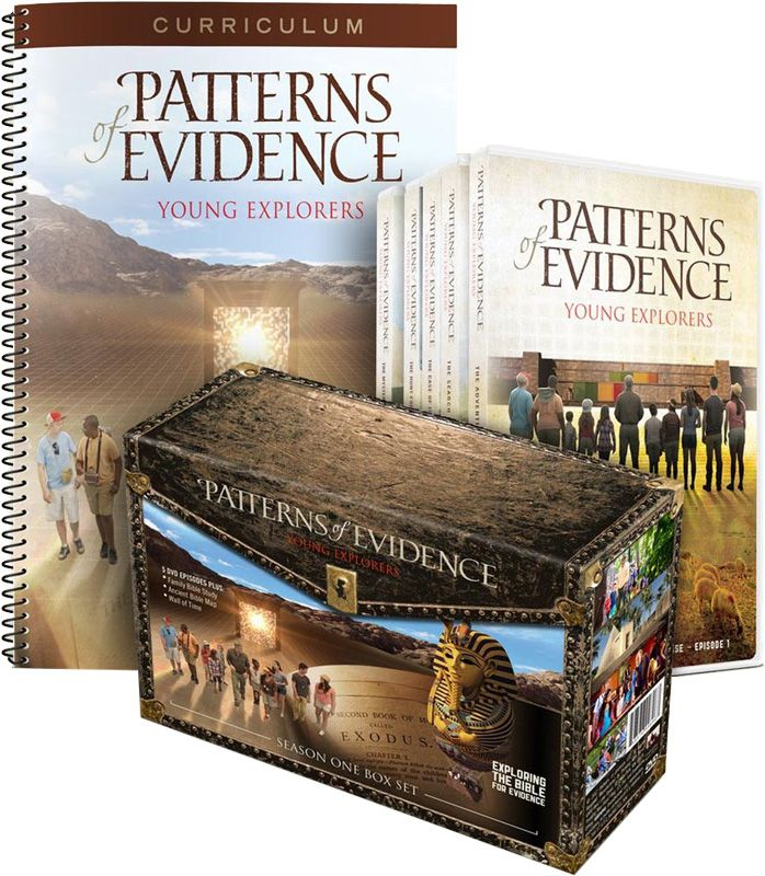Patterns Of Evidence Young Explorers Curriculum Pack Curriculum