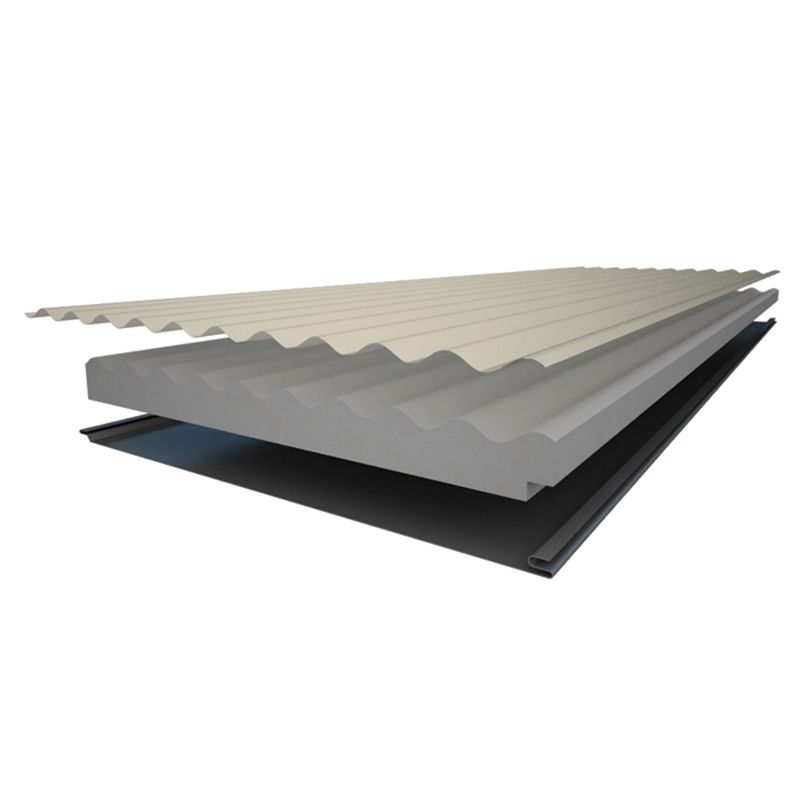 Find Insulspan 50mm Colorbond Colours Corrugated Roofing Linear Metre At Bunnings Warehouse Visit Your Local Store Fo Corrugated Roofing Roofing Roof Panels