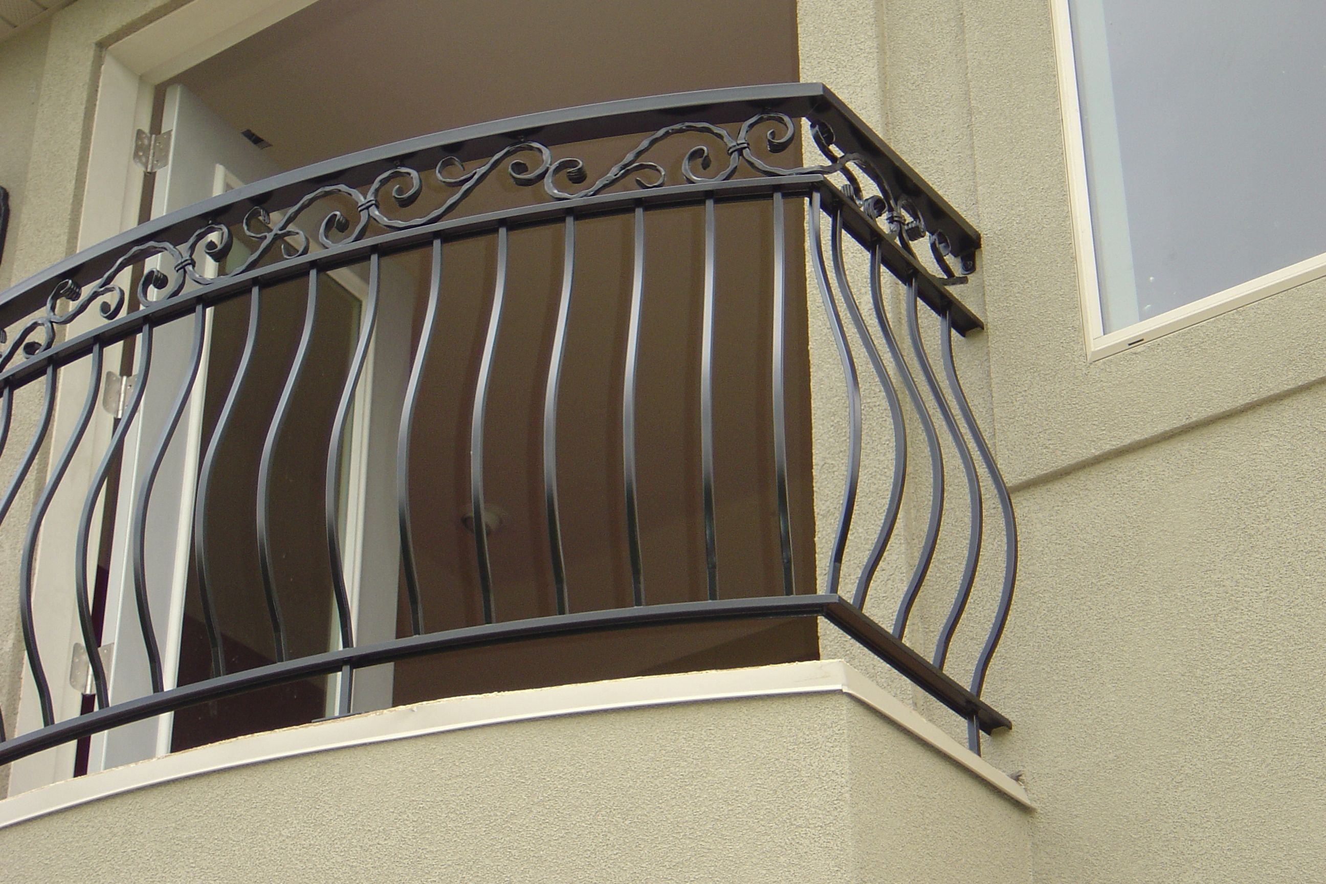cotati wrought napa picture rod view stair iron railing railings img and handrails porch