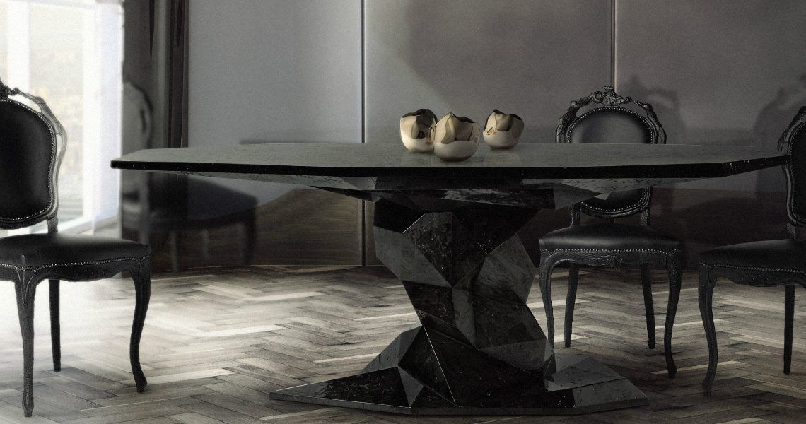 10 Stunning Contemporary Dining Tables To Make Every Dinner Special Modern Dining Tables Contemporary Dining Table Set Dining Table Dining Room Decor