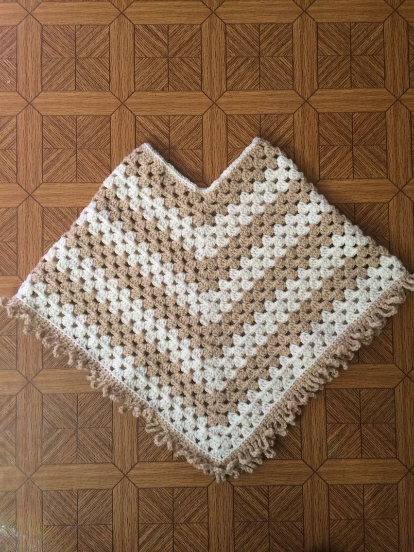 Childs Poncho Crochet Poncho Patterns Crochet Poncho