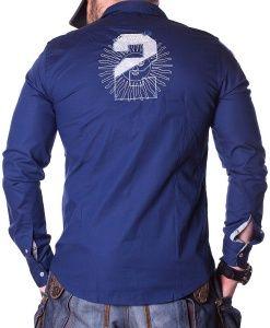La Martina Camisas Manga Larga - Asierto De Number 2 Polo Camisa Azul  Marino - precio 5f71113d470
