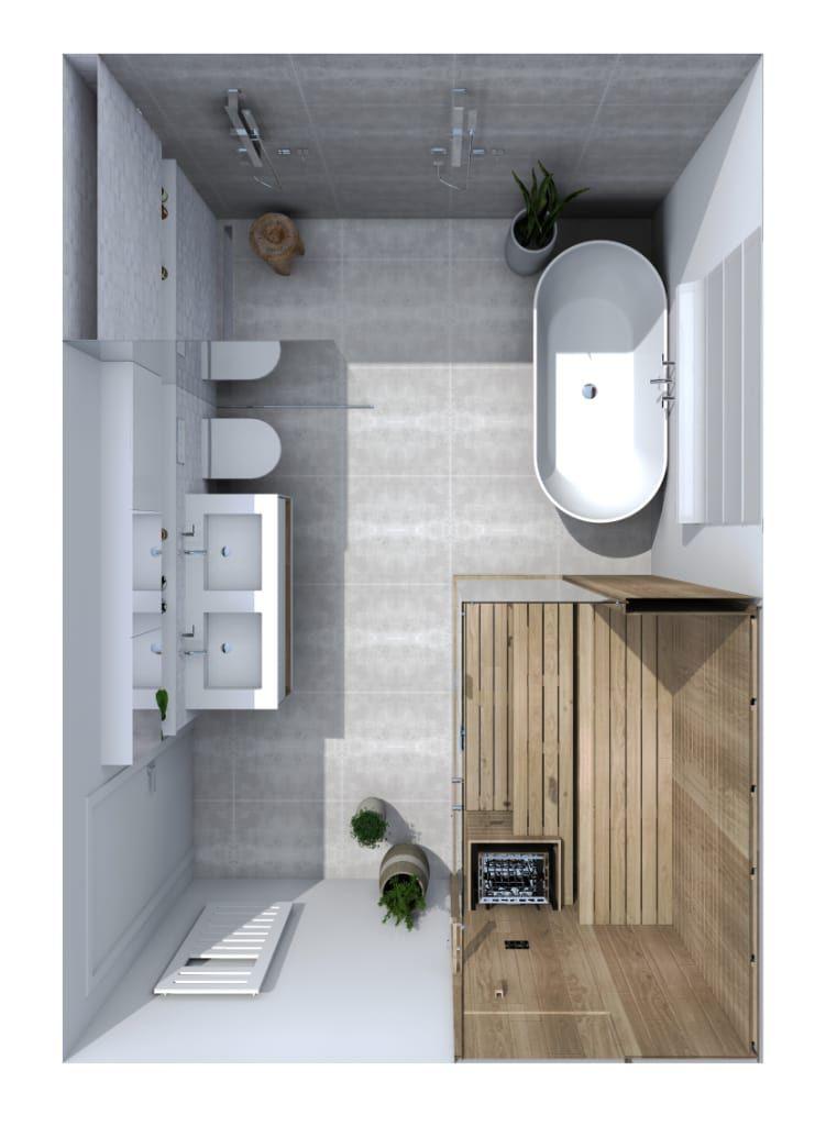 Salle de bain – strasbourg salle de bain scandinave par ...