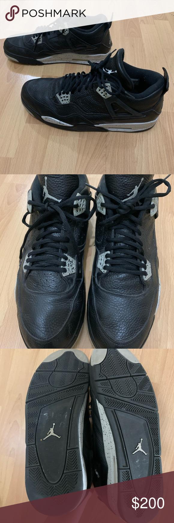 Nike air Jordan 4 IV retro Oreo men size 14 shoes Nike Air