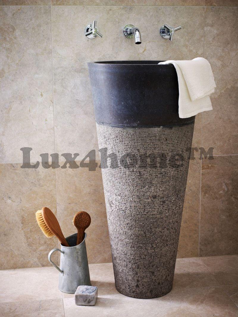 standing stone sinks wash basins