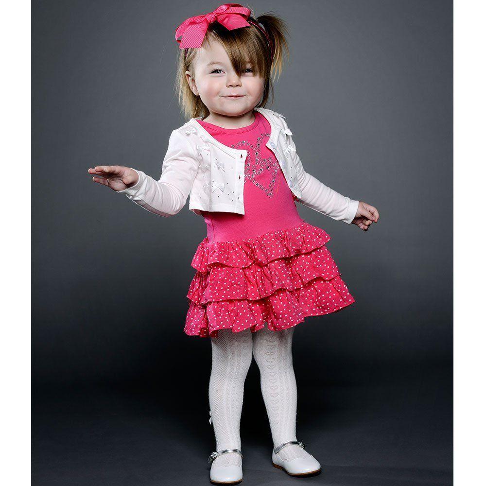 Le Chic jurkje (va.68) (Bi109-W15/87730/244) | Olliewood Online Kinderkleding en Babykleding