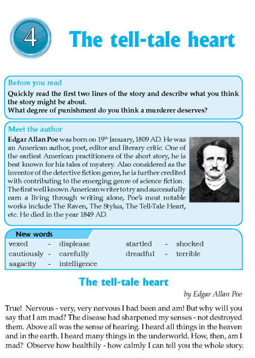 "literature grade short stories the tell tale heart teach  the tell tale heart essay ideas suggested essay topics and study questions for edgar allan poe s poe s short stories in ""the tell tale heart"" and ""the"