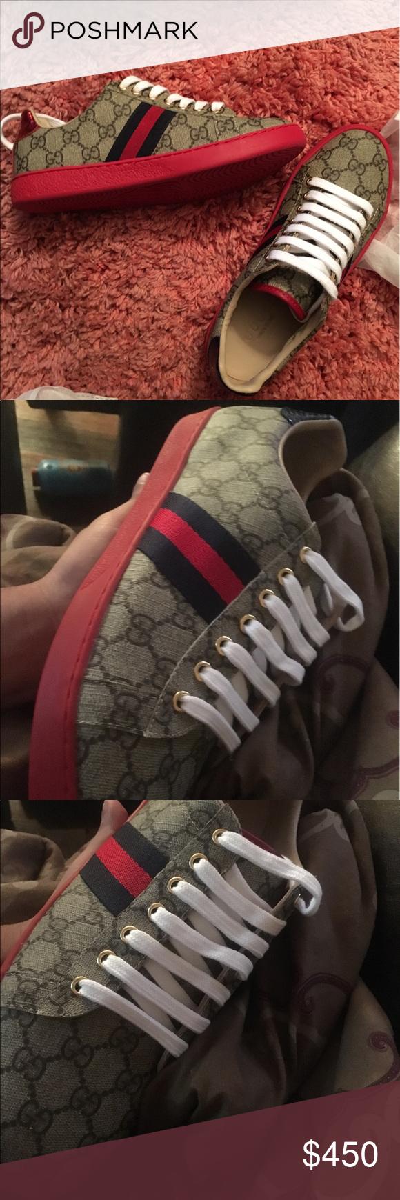 e82f49e8d58 Men Gucci Ace Sneakers size 11 Men Gucci Ace Sneakers Size 11. Price is  Firm Gucci Shoes Sneakers