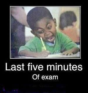 Gonna be me and Maddy today at our math final lol