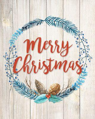 FREE CHRISTMAS WALL ART PRINTABLES   Navidad, Letreros y Feliz navidad