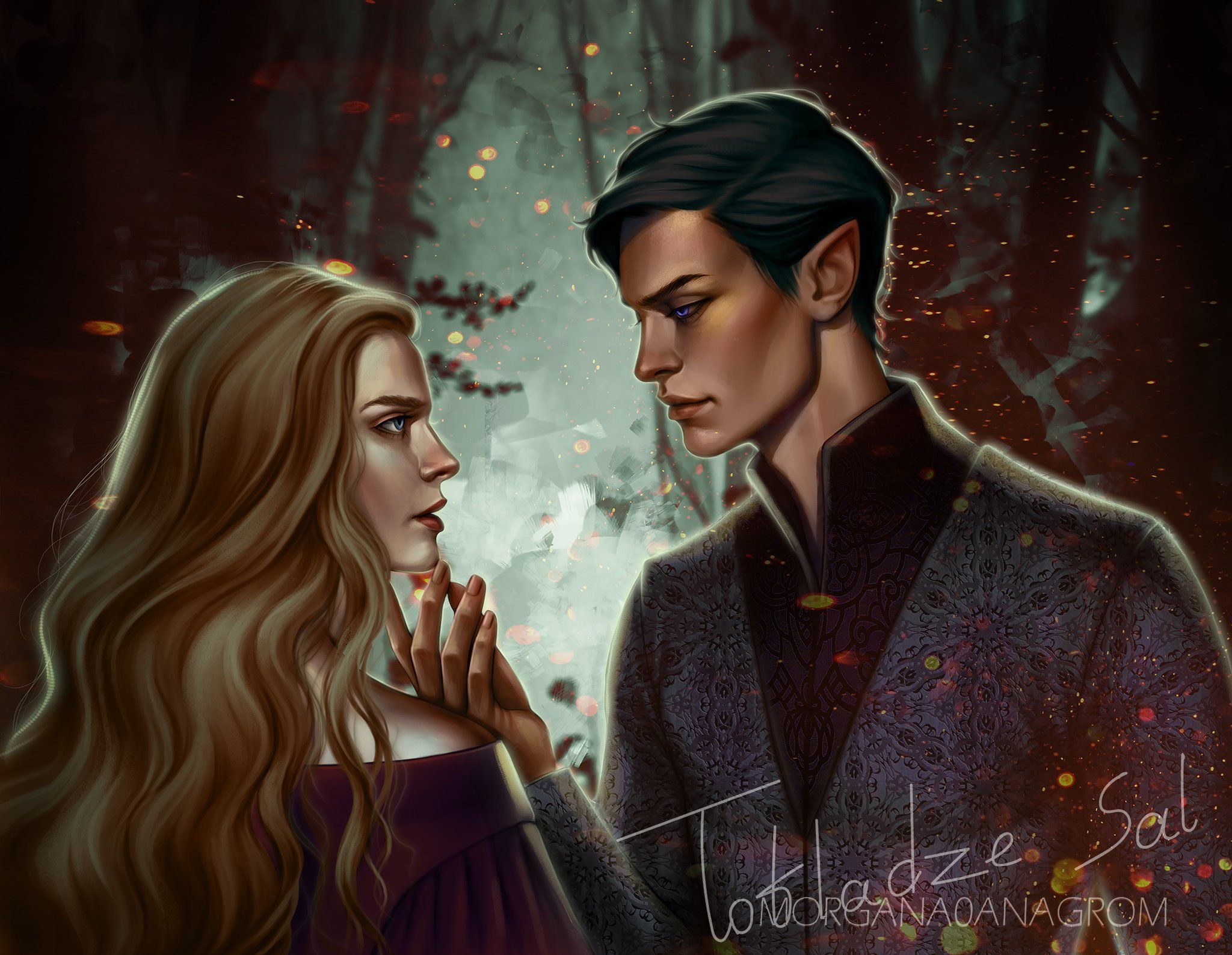 Morgana0anagrom On With Images A Court Of Mist And Fury Feyre