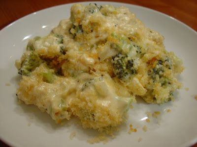 Zesty Broccoli Casserole Modified from Cooking Light