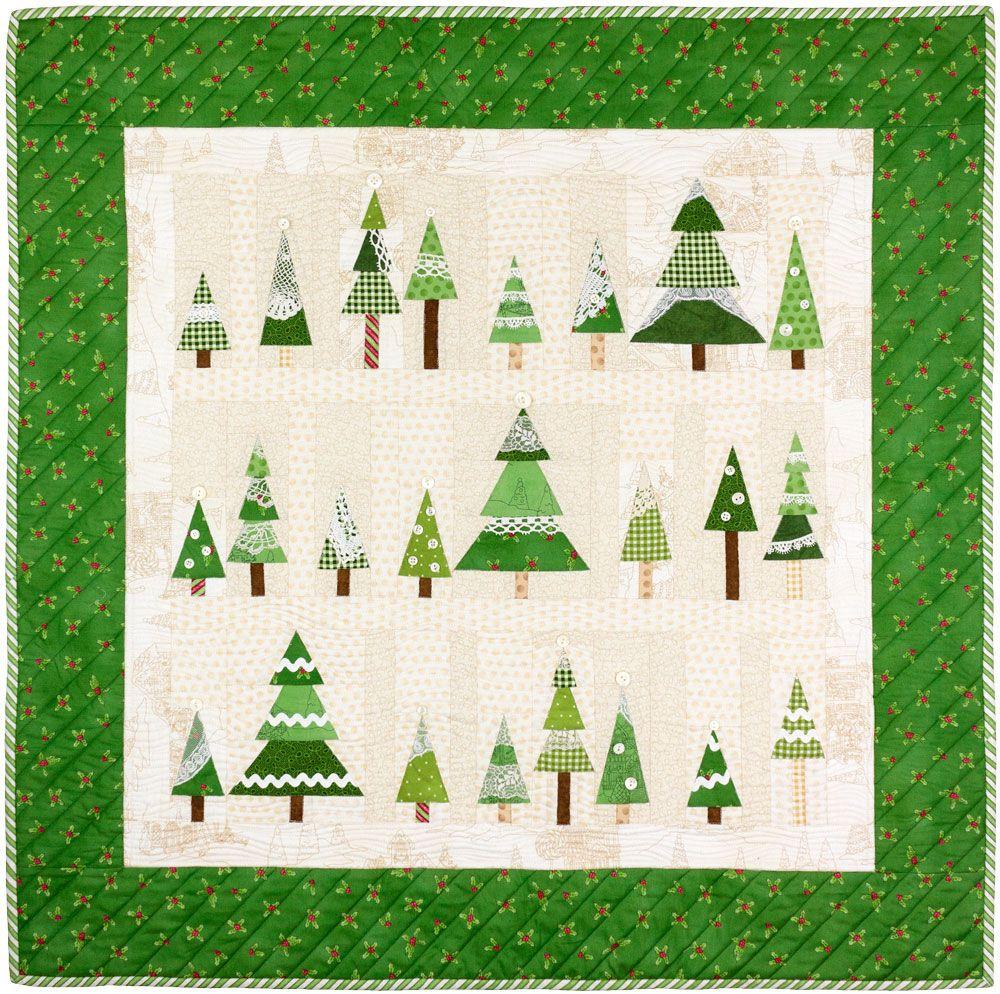 Frosty S Tree Farm Tree Quilt Pattern Christmas Quilt Patterns Tree Quilt