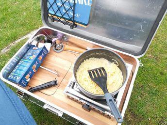Kais Kochkiste - Die kompakte Campingküche für alle Einsätze - MATSCH&PISTE