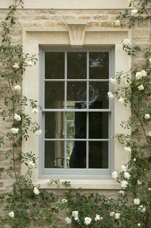 Stone Window Surround Home House Trim House Windows