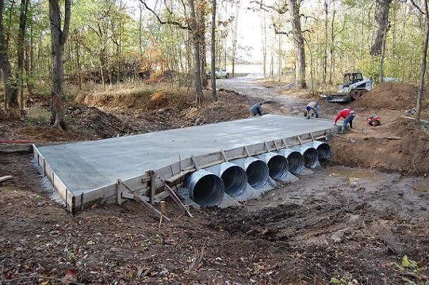 Residential bridge construction in florida foundation