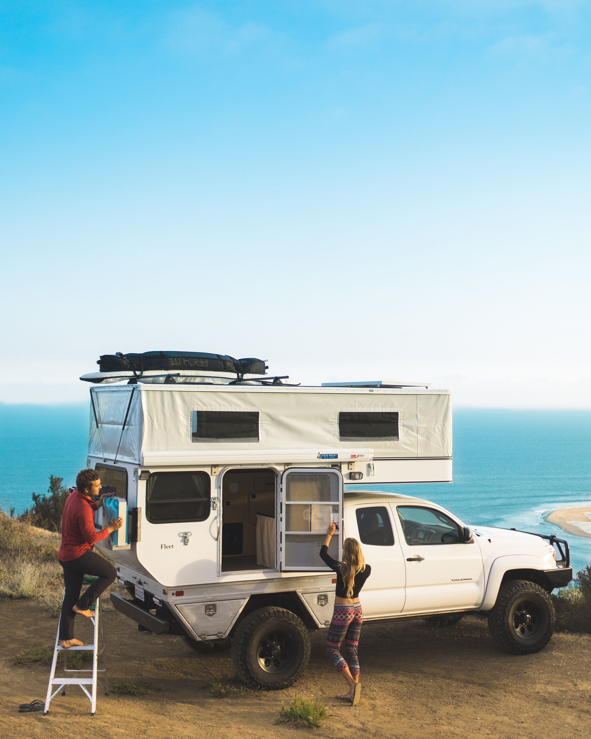 Toyota Camper Shells: Sharing An Office Complex With AT Overland Certainly Has