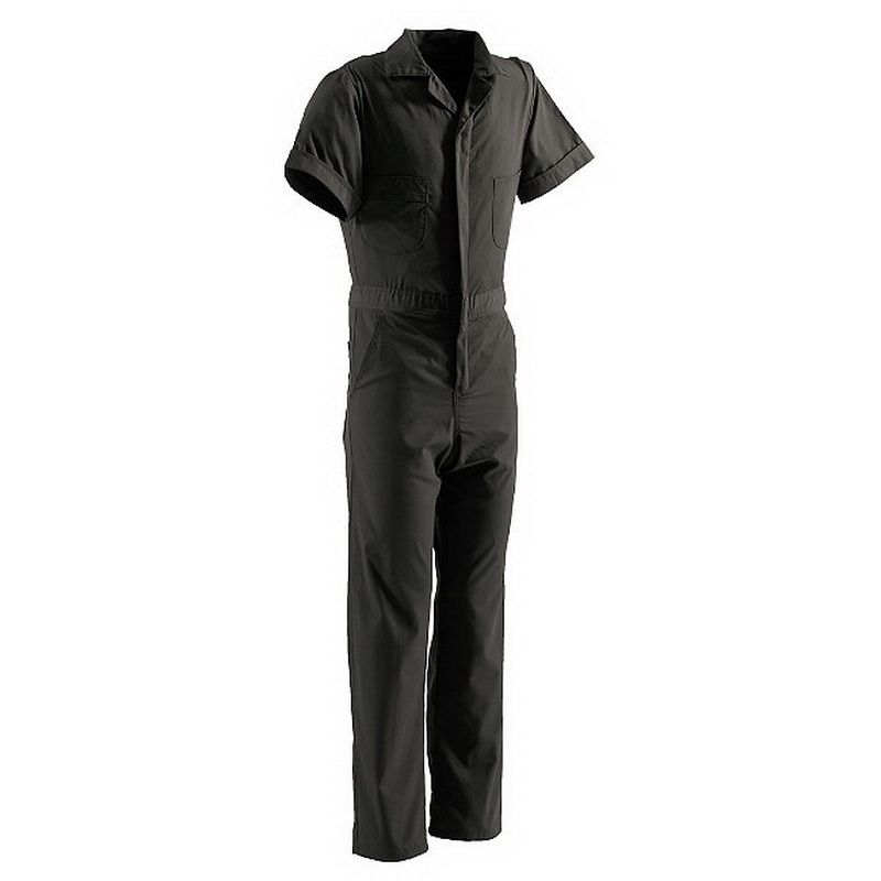 Berne Apparel Brown Cotton Duck Insulated Coveralls I417