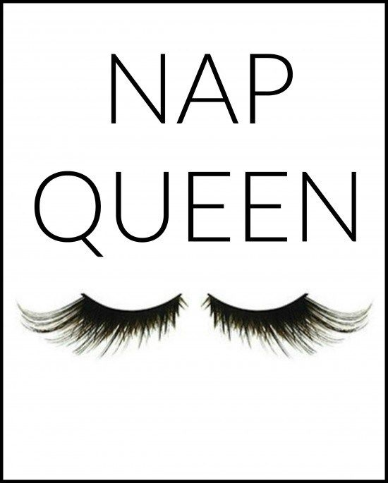 Bedroom Art Printables: Nap Queen Art For Gallery In Teen Bedroom. FREE Printable